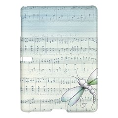 Vintage Blue Music Notes Samsung Galaxy Tab S (10 5 ) Hardshell Case  by Celenk