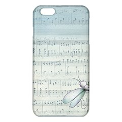 Vintage Blue Music Notes Iphone 6 Plus/6s Plus Tpu Case by Celenk