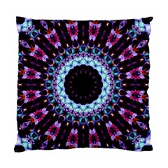 Kaleidoscope Shape Abstract Design Standard Cushion Case (one Side) by Celenk