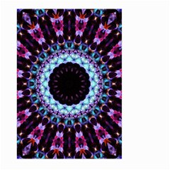 Kaleidoscope Shape Abstract Design Large Garden Flag (two Sides) by Celenk