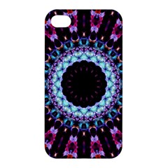 Kaleidoscope Shape Abstract Design Apple Iphone 4/4s Premium Hardshell Case by Celenk