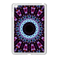 Kaleidoscope Shape Abstract Design Apple Ipad Mini Case (white) by Celenk