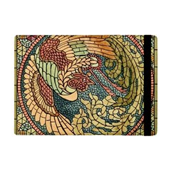 Wings Feathers Cubism Mosaic Apple Ipad Mini Flip Case