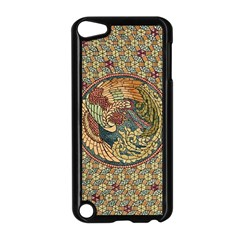 Wings Feathers Cubism Mosaic Apple Ipod Touch 5 Case (black) by Celenk