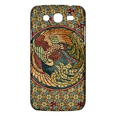 Wings Feathers Cubism Mosaic Samsung Galaxy Mega 5 8 I9152 Hardshell Case  by Celenk