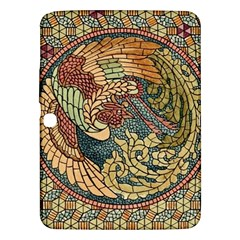 Wings Feathers Cubism Mosaic Samsung Galaxy Tab 3 (10 1 ) P5200 Hardshell Case  by Celenk