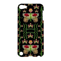 Roses In The Soft Hands Makes A Smile Pop Art Apple Ipod Touch 5 Hardshell Case by pepitasart