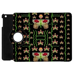 Roses In The Soft Hands Makes A Smile Pop Art Apple Ipad Mini Flip 360 Case by pepitasart