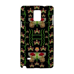 Roses In The Soft Hands Makes A Smile Pop Art Samsung Galaxy Note 4 Hardshell Case by pepitasart