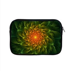 Beautiful Orange Green Desert Cactus Fractalspiral Apple Macbook Pro 15  Zipper Case by jayaprime