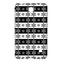 Snowflakes   Christmas Pattern Samsung Galaxy Tab 4 (8 ) Hardshell Case  by Valentinaart