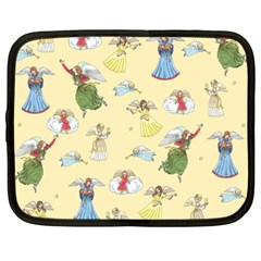 Christmas Angels  Netbook Case (xl)