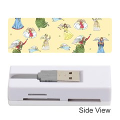 Christmas Angels  Memory Card Reader (stick)