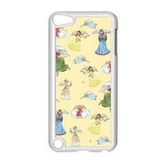 Christmas Angels  Apple Ipod Touch 5 Case (white) by Valentinaart