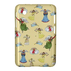 Christmas Angels  Samsung Galaxy Tab 2 (7 ) P3100 Hardshell Case  by Valentinaart