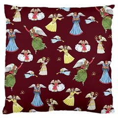 Christmas Angels  Large Cushion Case (two Sides)