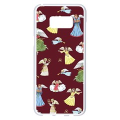 Christmas Angels  Samsung Galaxy S8 Plus White Seamless Case