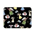 Christmas angels  Double Sided Flano Blanket (Mini)  35 x27 Blanket Front