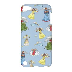 Christmas Angels  Apple Ipod Touch 5 Hardshell Case by Valentinaart