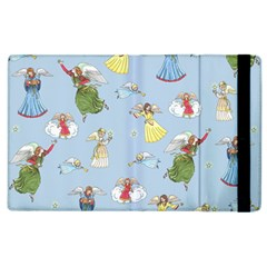 Christmas Angels  Apple Ipad 2 Flip Case by Valentinaart
