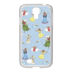 Christmas Angels  Samsung Galaxy S4 I9500/ I9505 Case (white) by Valentinaart