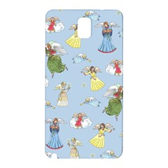 Christmas Angels  Samsung Galaxy Note 3 N9005 Hardshell Back Case by Valentinaart
