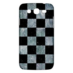 Square1 Black Marble & Ice Crystals Samsung Galaxy Mega 5 8 I9152 Hardshell Case  by trendistuff