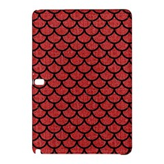 Scales1 Black Marble & Red Denim Samsung Galaxy Tab Pro 10 1 Hardshell Case by trendistuff