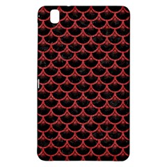 Scales3 Black Marble & Red Denim (r) Samsung Galaxy Tab Pro 8 4 Hardshell Case by trendistuff