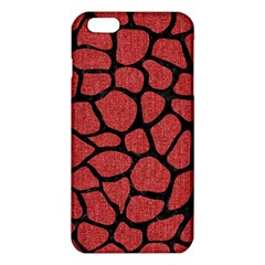 Skin1 Black Marble & Red Denim (r) Iphone 6 Plus/6s Plus Tpu Case by trendistuff
