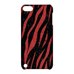 Skin3 Black Marble & Red Denim (r) Apple Ipod Touch 5 Hardshell Case With Stand by trendistuff
