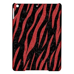 Skin3 Black Marble & Red Denim (r) Ipad Air Hardshell Cases by trendistuff