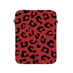 Skin5 Black Marble & Red Denim (r) Apple Ipad 2/3/4 Protective Soft Cases by trendistuff