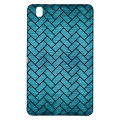 Brick2 Black Marble & Teal Brushed Metal Samsung Galaxy Tab Pro 8 4 Hardshell Case by trendistuff