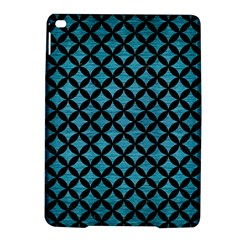 Circles3 Black Marble & Teal Brushed Metal Ipad Air 2 Hardshell Cases by trendistuff