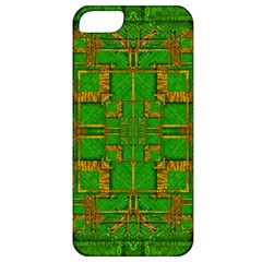 Golden Green And  Sunshine Pop Art Apple Iphone 5 Classic Hardshell Case by pepitasart