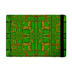 Golden Green And  Sunshine Pop Art Ipad Mini 2 Flip Cases by pepitasart