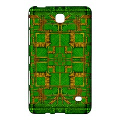 Golden Green And  Sunshine Pop Art Samsung Galaxy Tab 4 (8 ) Hardshell Case  by pepitasart