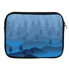 Blue Mountain Apple Ipad 2/3/4 Zipper Cases