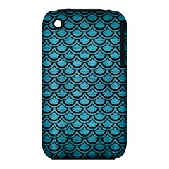 Scales2 Black Marble & Teal Brushed Metal Iphone 3s/3gs