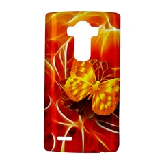 Arrangement Butterfly Aesthetics Orange Background Lg G4 Hardshell Case by Celenk