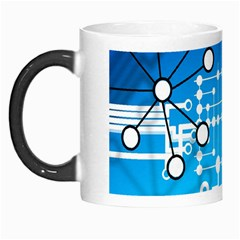 Block Chain Data Records Concept Morph Mugs by Celenk