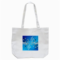 Block Chain Data Records Concept Tote Bag (white) by Celenk