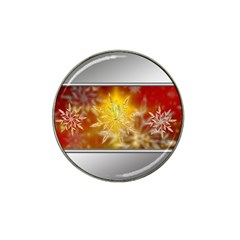 Christmas Candles Christmas Card Hat Clip Ball Marker by Celenk