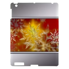 Christmas Candles Christmas Card Apple Ipad 3/4 Hardshell Case by Celenk