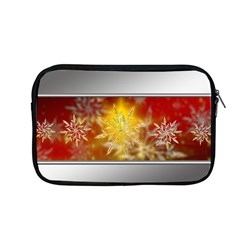 Christmas Candles Christmas Card Apple Macbook Pro 13  Zipper Case by Celenk