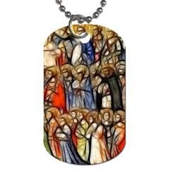 All Saints Christian Holy Faith Dog Tag (two Sides)