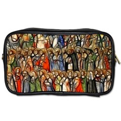 All Saints Christian Holy Faith Toiletries Bags 2 Side by Celenk