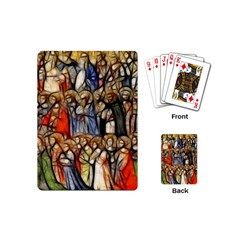 All Saints Christian Holy Faith Playing Cards (mini)  by Celenk
