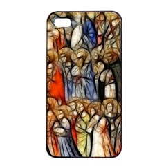All Saints Christian Holy Faith Apple Iphone 4/4s Seamless Case (black) by Celenk
